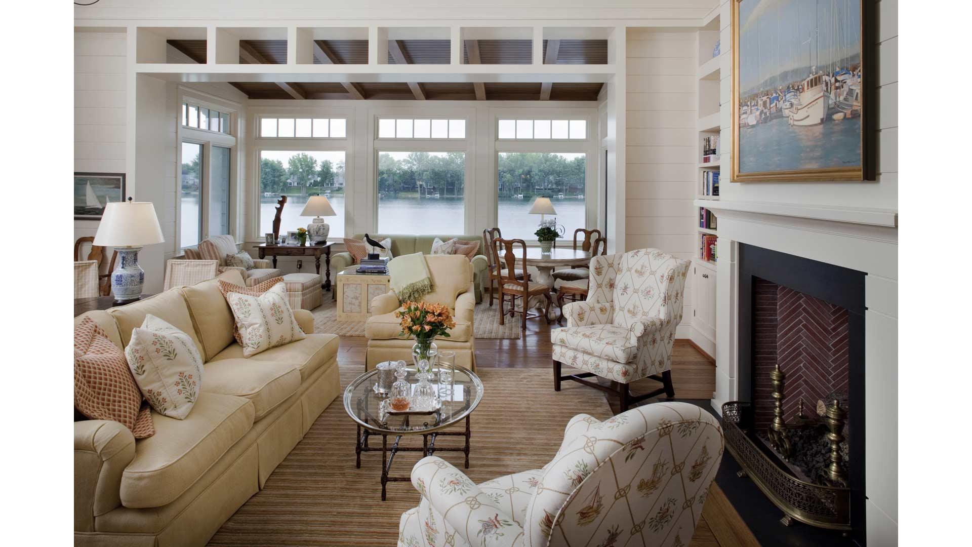 Shingle Style Lakehouse - HAUS Architecture, Christopher Short, Indianapolis Architect