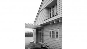 Nantucket Bay Shingle Style Lakehouse - Construction Progress - HAUS Architecture, Christopher Short, Indianapolis Architect
