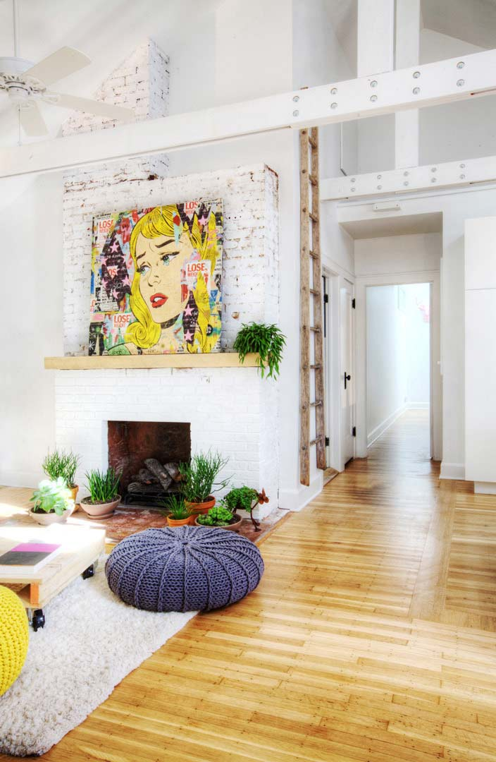 10 Innovative Ways to Decorate w Ladders + POP ART