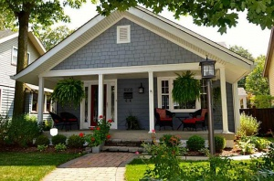 Broad Ripple Bungalow - Exterior View at Purchase