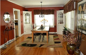 Broad Ripple Bungalow - Before Shot Dining Room