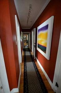 Broad Ripple Bungalow - Before Shot Hallway