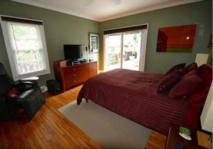 Broad Ripple Bungalow - Before Shot Master Bedroom