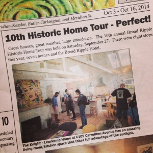 Broad Ripple Bungalow - 10th Historic Broad Ripple Home Tour 2014 - HAUS Architecture