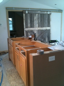 Broad Ripple Phase 1 - Loft Cabinets Reclaimed - WERK Building Modern