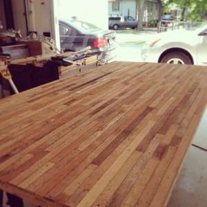 Broad Ripple Bungalow Phase 1 - Wood Tops Process - Derek Mills - WERK Building Modern