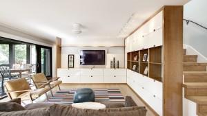 Butler Tarkington Modern Tudor - Scandinavian Interior Media Center, HAUS Architecture, WERK Building Modern
