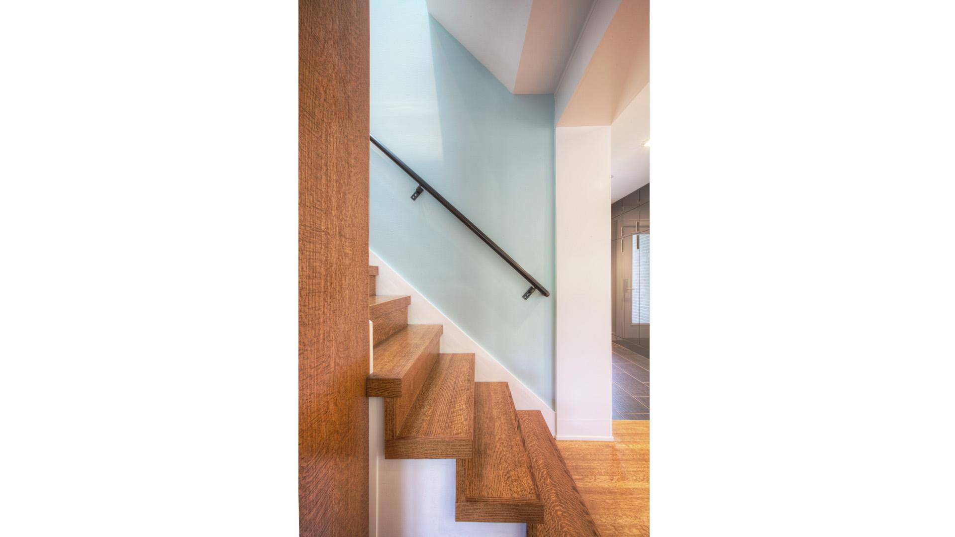 Butler Tarkington Modern Tudor - Back Stair