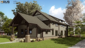 New Craftsman Expansion Underway - HAUS Architecture, Christopher Short, Indianapolis Architect
