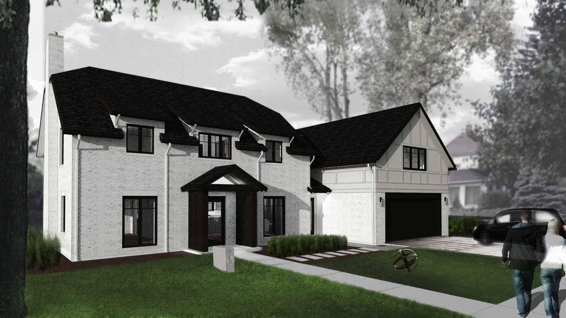 Butler Tarkington Modern Tudor