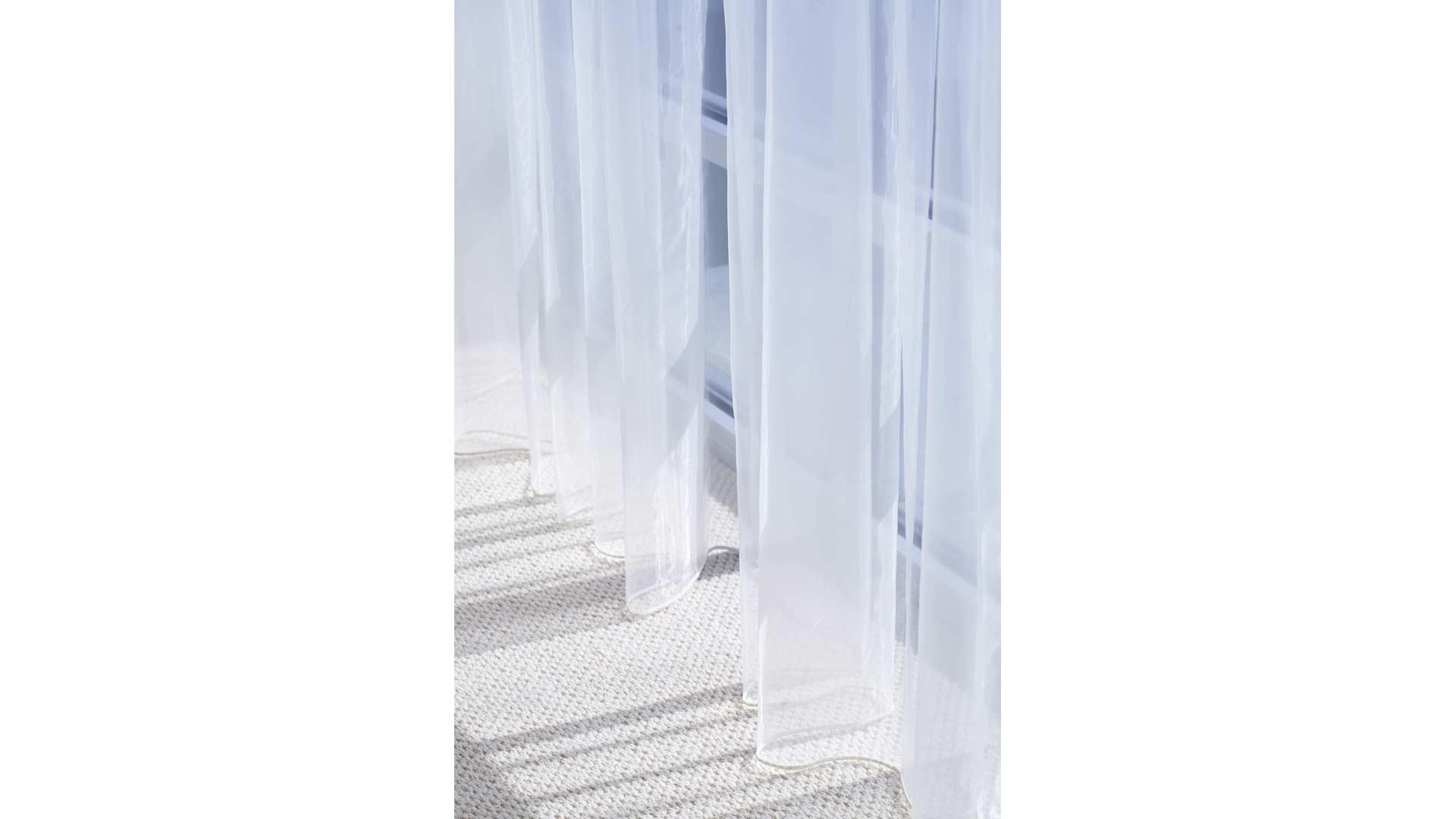 Adagio Penthouse Interior - Master Bedroom Sheers - HAUS Architecture, Christopher Short, Indianapolis Architect
