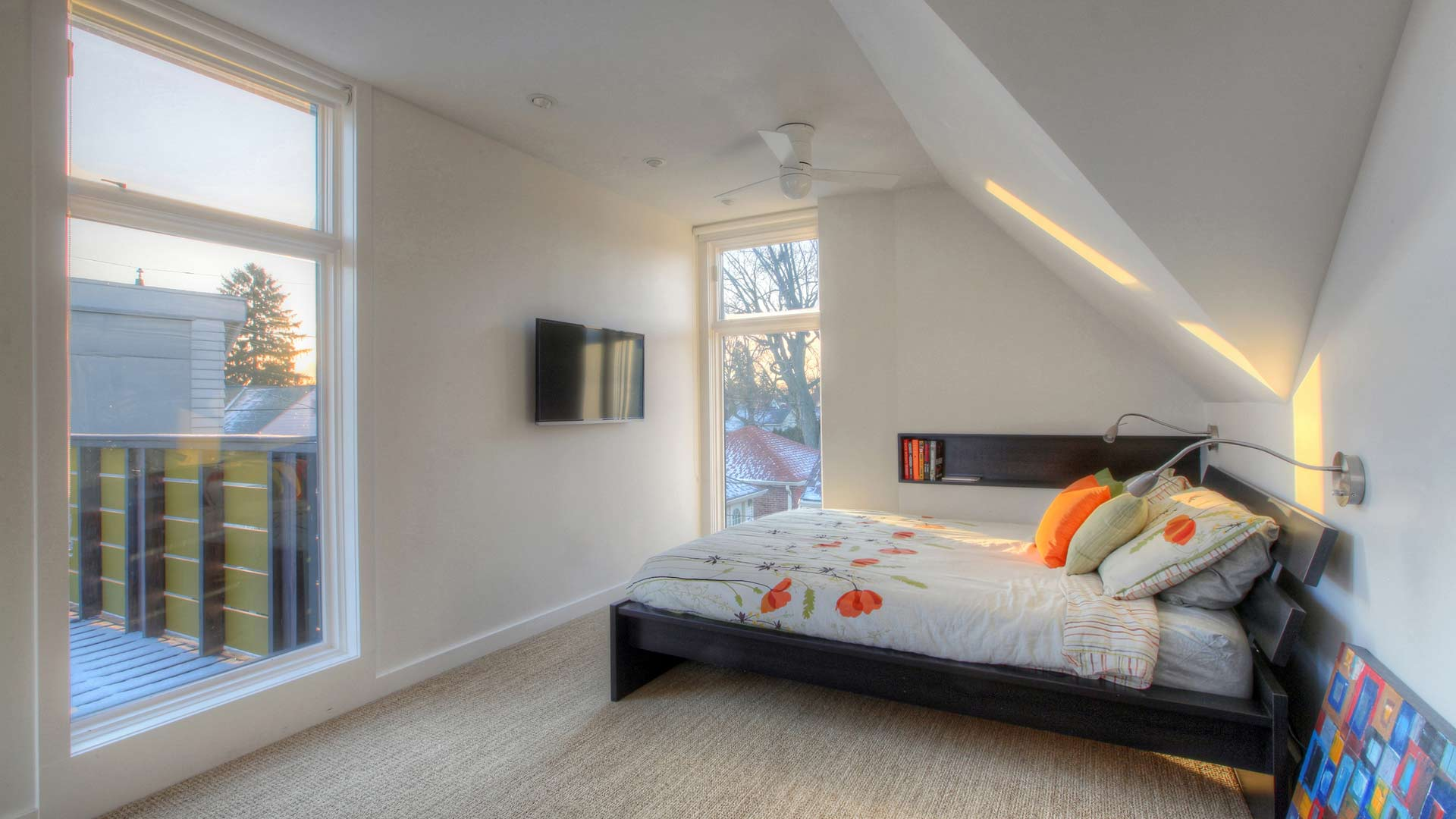Classic Irvington Tudor Remodel - Master Bedroom - HAUS Architecture, WERK Building Modern