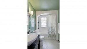 Classic Irvington Tudor Remodel - Retro Bathroom - HAUS Architecture, WERK Building Modern, Christopher Short, Indianapolis Architect