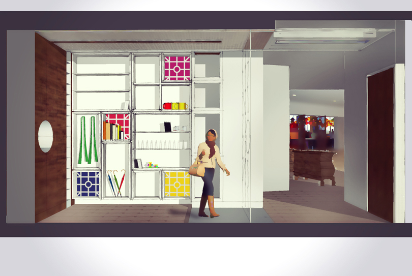 Alexander Boutique Gift Shop Design - HAUS Architecture