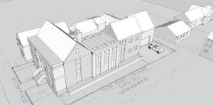 Brownstone Design Concept - HAUS Architecture, Christopher Short, Indianapolis Architect