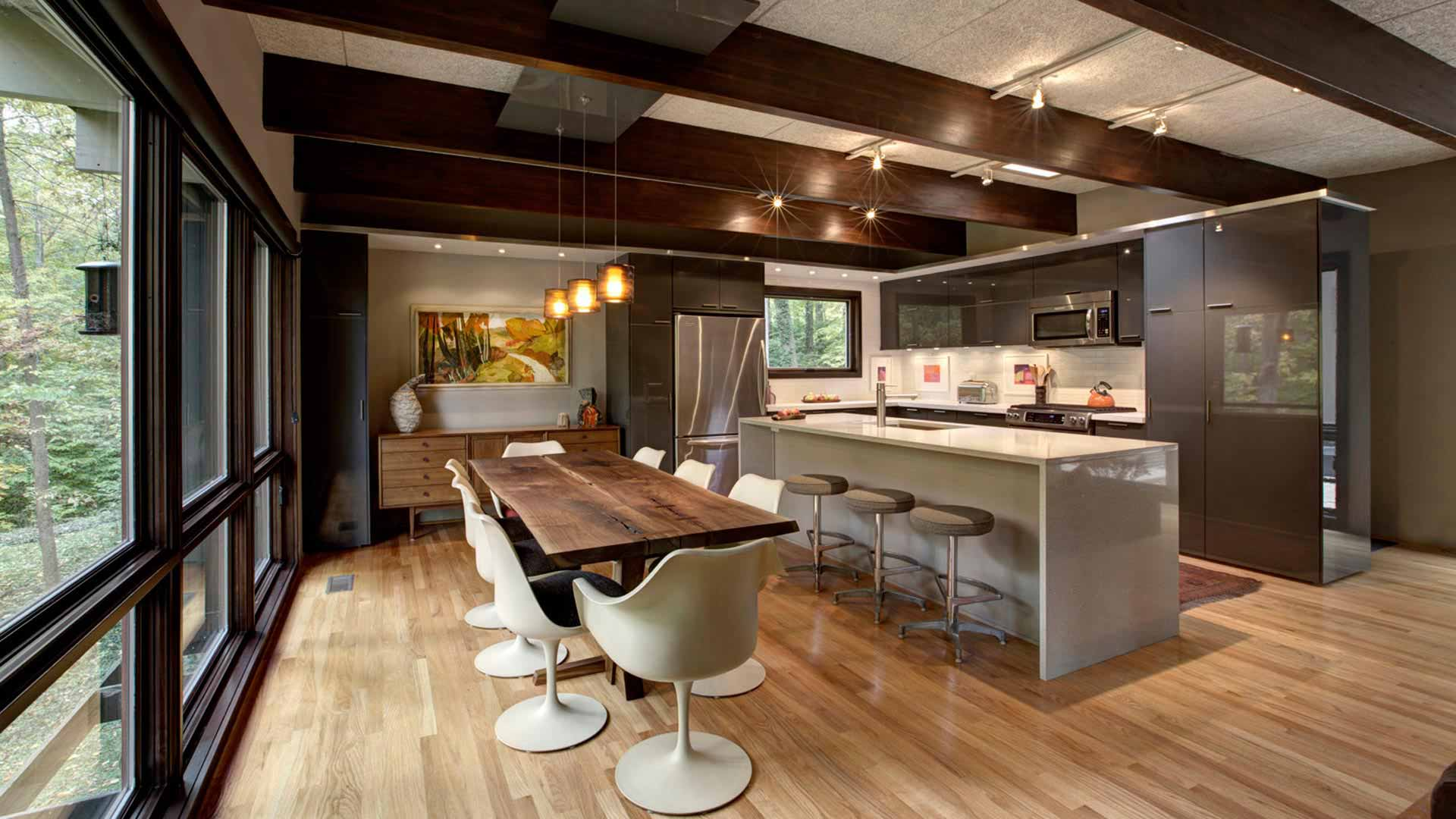 Kitchen Dining Room Combo Modern Interior Design