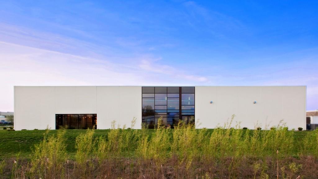 BRAND Photodesign Studio (Photography Studio) - North Elevation - HAUS Architecture, Christopher Short, Indianapolis Architect