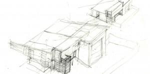 BRAND Photodesign Studio - Process Sketch, HAUS Architecture, Christopher Short, Indianapolis Architect