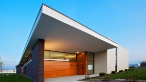 BRAND Photography Studio- Entry Elevation - HAUS Architecture, Christopher Short, Indianapolis Architect