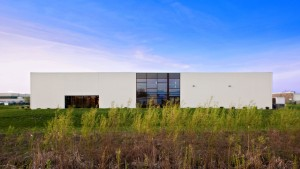 Brand Photography Studio, North Exterior Elevation, HAUS Architecture, Christopher Short, Indianapolis Architect