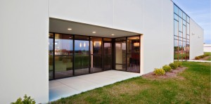 BRAND Photodesign Studio (Photography Studio) - Covered Patio - HAUS Architecture, Christopher Short, Indianapolis Architect