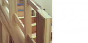 Stair Detail - Clearwater Renovation - HAUS Architecture, WERK Building Modern