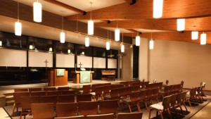 Treatment Center - Lutheran Child and Family Services (LCFS) - Chapel Interior - HAUS Architecture, Christopher Short, Indianapolis Architect
