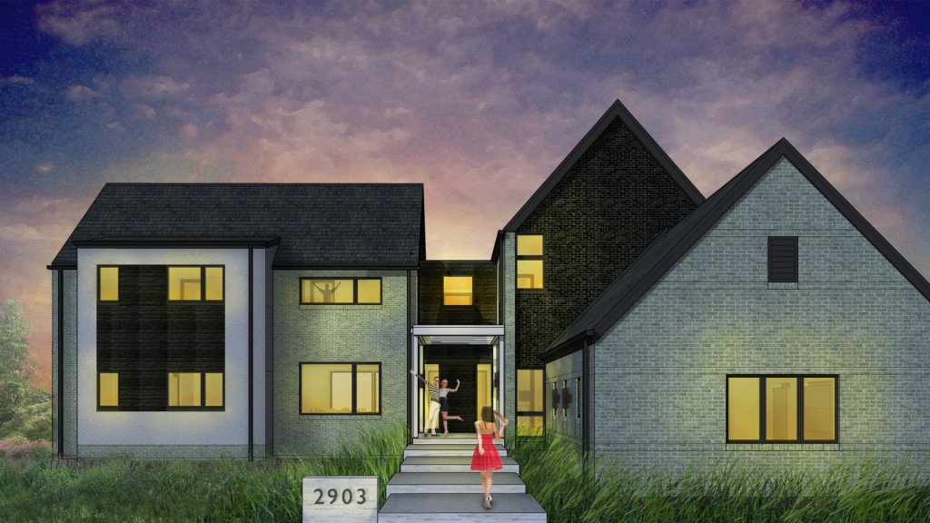 New Modern House 2 - Carmel, IN - HAUS Architecture, Christopher Short, Indianapolis Architect