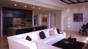 Asian Modern Interior - Living Kitchen - HAUS Architecture
