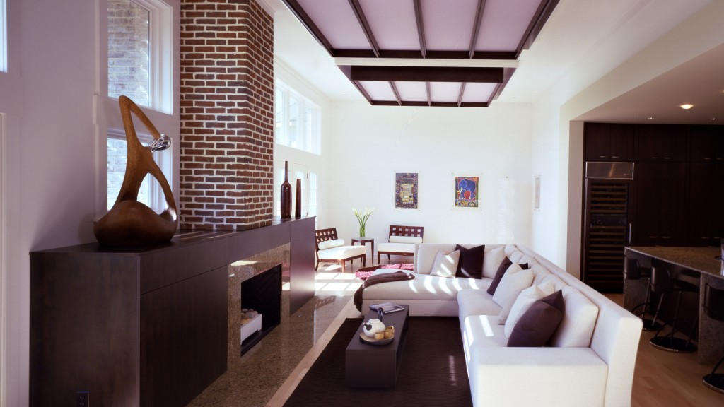 Asian Modern Interior - Main Living - HAUS Architecture, Christopher Short, Indianapolis Architect