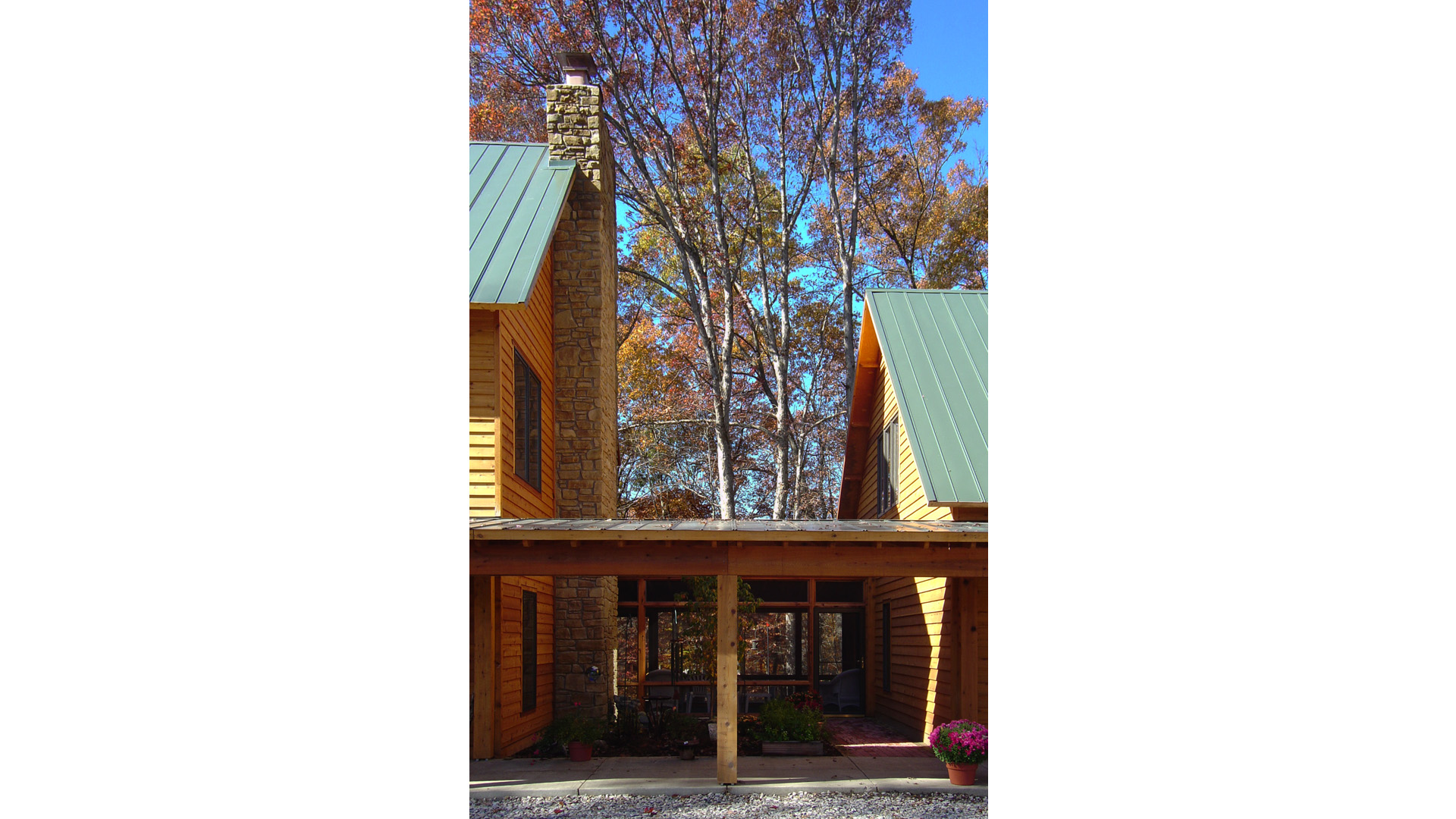 Nashville Cabin Retreat, Connector, HAUS Architecture, Christopher Short, Indianapolis Architect