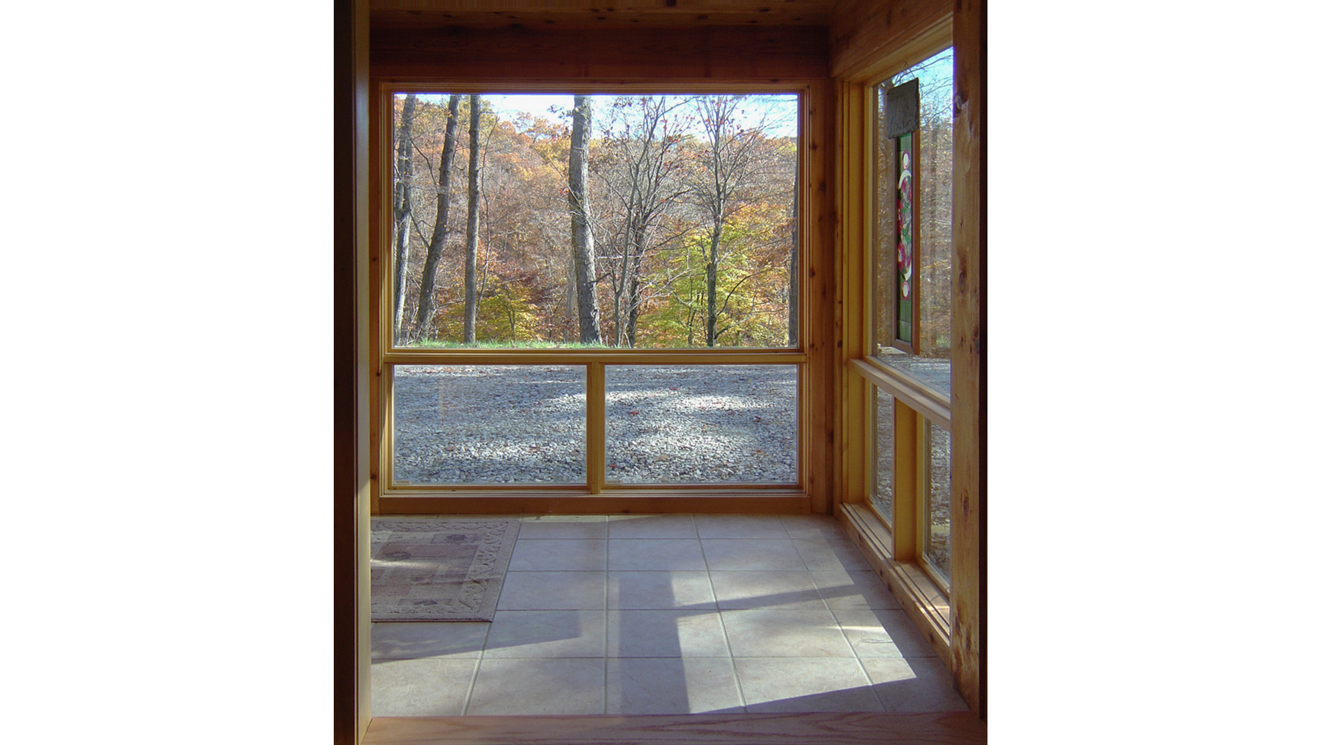 Nashville Cabin Retreat, Glass Entry Cube, HAUS Architecture, Christopher Short, Indianapolis Architect