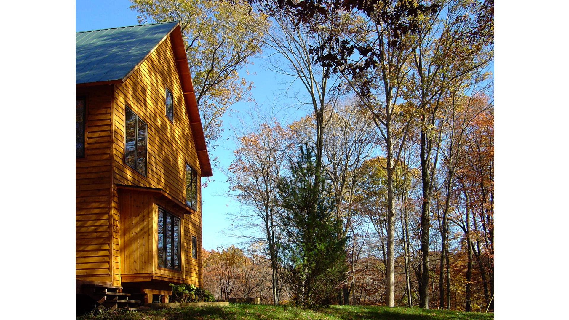 Nashville Cabin Retreat, Autumn Ridge View, HAUS Architecture, Christopher Short, Indianapolis Architect