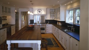 Nantucket Bay Shingle Style - Kitchen View - HAUS Architecture, Christopher Short, Indianapolis Architect