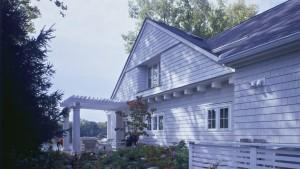 Nantucket Bay Shingle Style - East Garden - HAUS Architecture, Christopher Short, Indianapolis Architect