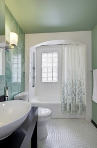 Home Spa Experience Essentials - Classic Irvington Renovation - HAUS Architecture, Christopher Short, Indianapolis Architect