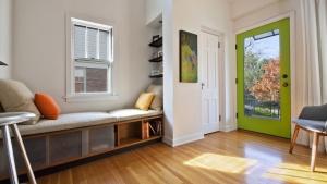 Classic Irvington Tudor Remodel - Window Seat - Christopher Short, Architect, Indianapolis, HAUS Architecture