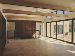 New Modern House 1 - Living Room Progress - Christopher Short, Architect, Indianapolis, HAUS Architecture