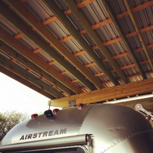 New Modern House 1 - Airstream Shelter - HAUS Architecture, Christopher Short, Indianapolis Architect