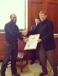 2016 State of Indiana Architect's Licensing Ceremony-Paul Reynolds Registered Architect