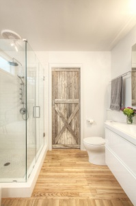 Salvaged Wood Doors - Christopher Short, Architect, Indianapolis, HAUS Architecture
