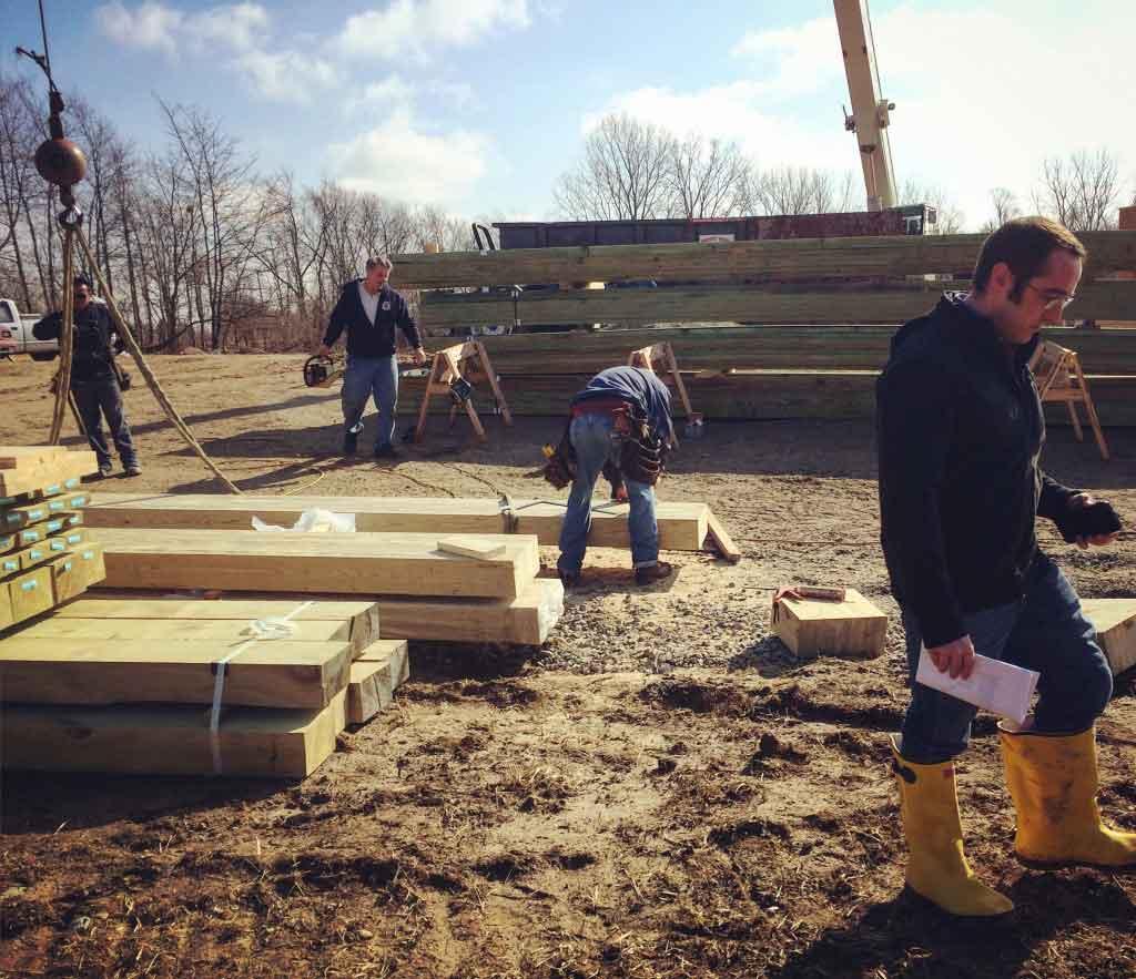 New Modern House 1 - Yellow Boots - Heavy Timber - HAUS Architecture, WERK Building Modern, Derek Mills
