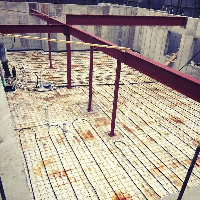 New Modern House 3 - Radiant Flooring Installation
