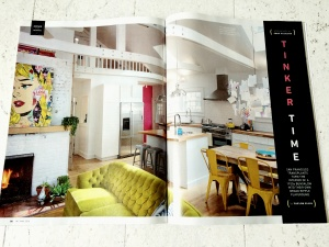 Broad Ripple Bungalow Published - Indianapolis Monthly Magazine - HAUS Architecture, Christopher Short, Indianapolis Architect