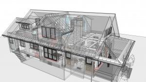 Broad Ripple Modern Craftsman Renovation - XRAY - HAUS Architecture