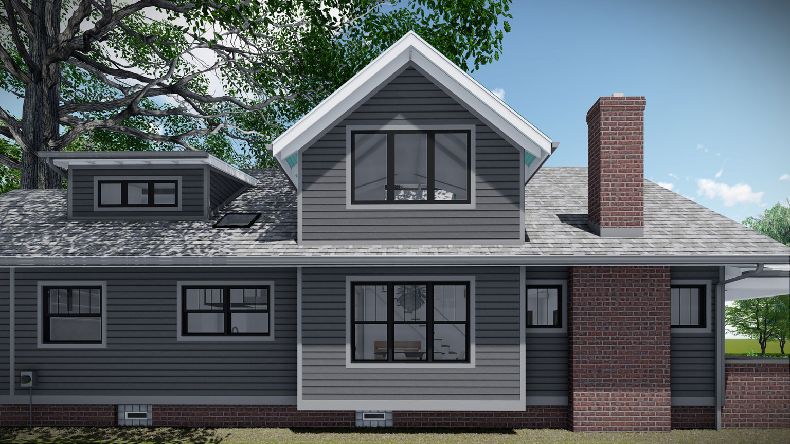 Broad Ripple Modern Craftsman Renovation