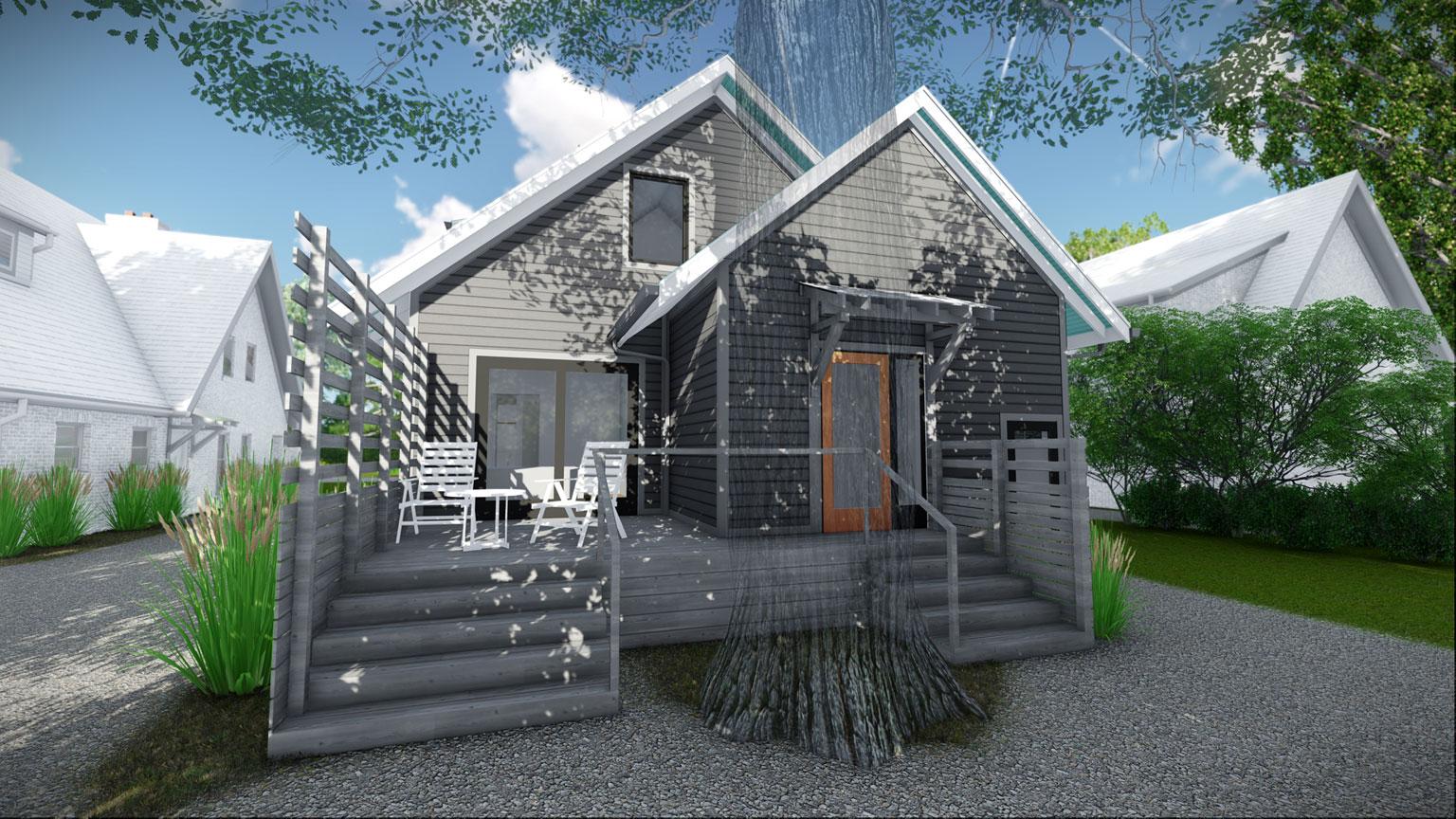 Broad Ripple Modern Craftsman Renovation - Christopher Short, Architect, Indianapolis, HAUS Architecture