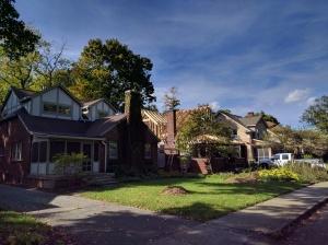 Broad Ripple Modern Craftsman Renovation - Street View - HAUS Architecture