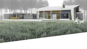 Paper Architecture - Modern Dream Home - Christopher Short, Architect, Indianapolis, HAUS Architecture