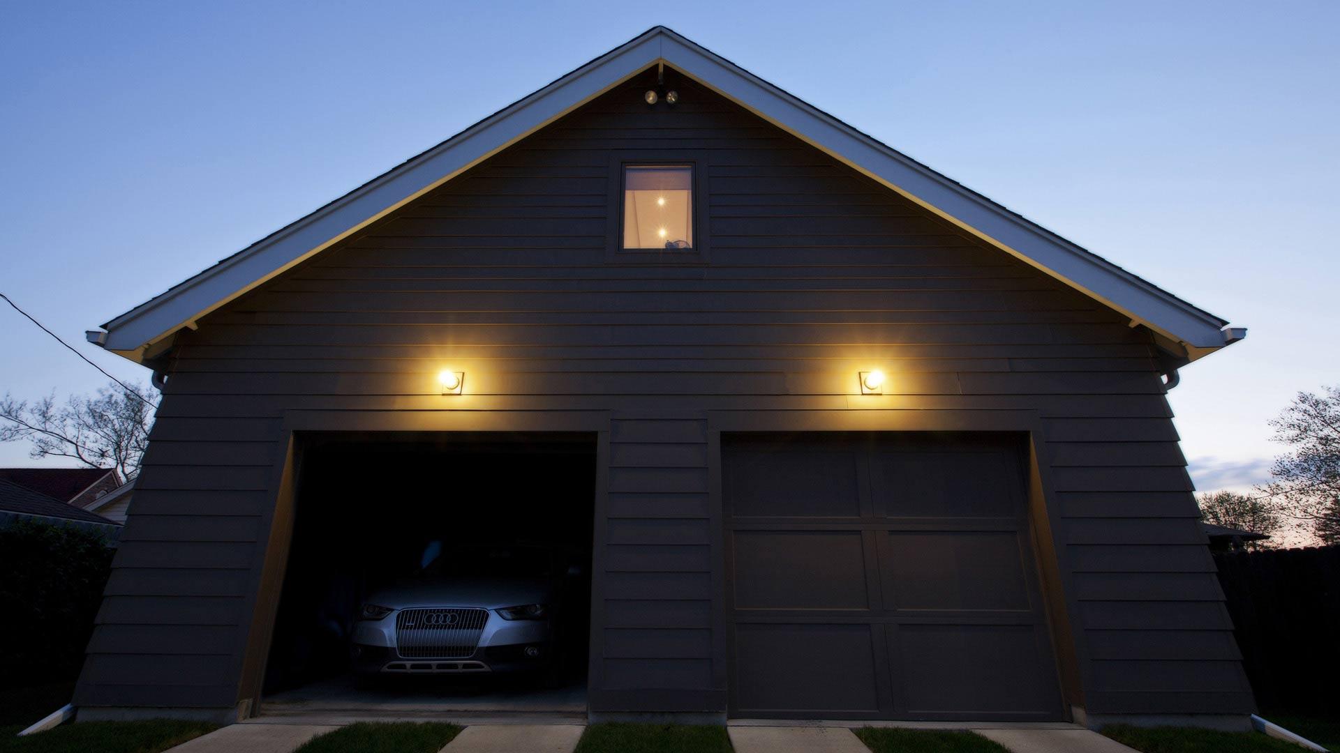 Classic Irvington Tudor Remodel - Detached Garage Studio - Christopher Short, Architect, Indianapolis, HAUS Architecture